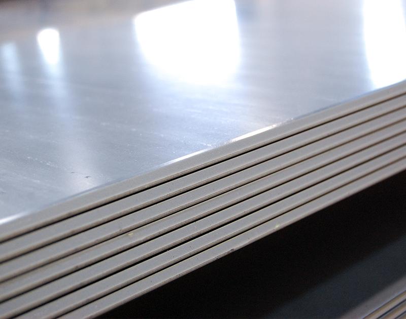 Vendita lamiere a spessore inox decapate stirate for Scatolati in acciaio inox